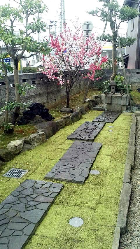 施工事例:延段と井筒の庭