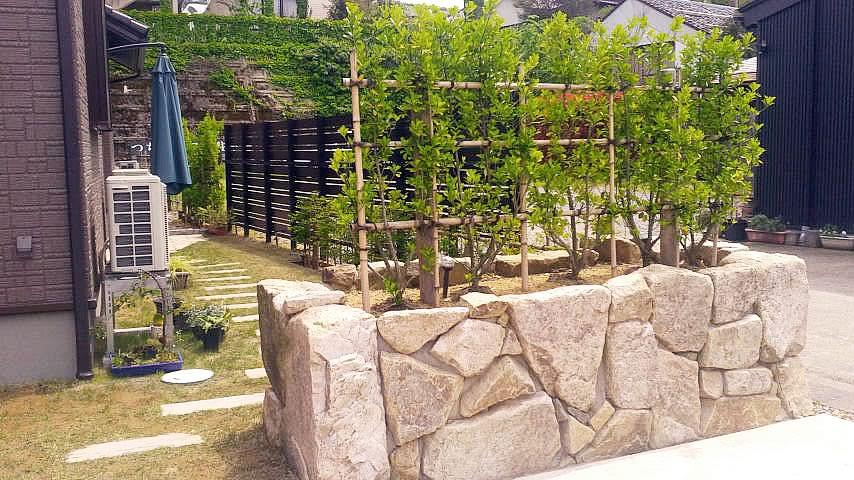 施工事例:和洋折衷の庭